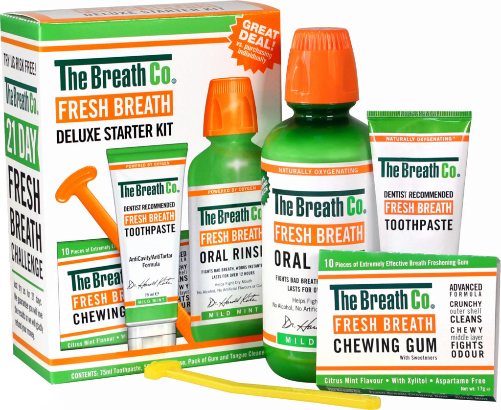 slechte adem verhelpen met zuurstof