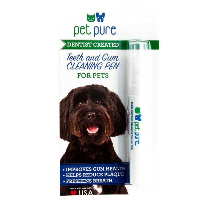 Pet Pure's Teeth & Gum Cleaning Pen