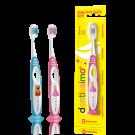 Dentissimo Zachte Tandenborstel Kinderen 2-6 Jaar Ergonomische Handgreep Vrolijk