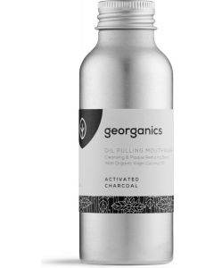 UK Organics Houtskool Mondwater Oil Pulling