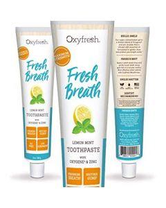 Oxyfresh tandpasta tegen slechte adem