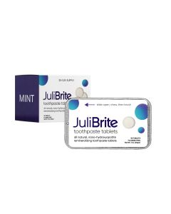 julibrite tandpasta tabletten plastic vrij natuurlijk duurzaam