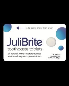 julibrite tandpasta tabletten