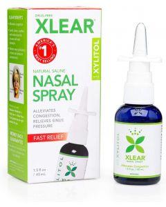 Clear regular nasal spray