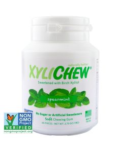 Xylichew Natuurlijke Kauwgum Ice Mint Spearmint Peppermint Kaneel