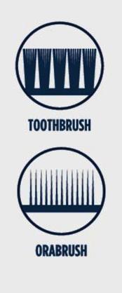 tandenborstel tong